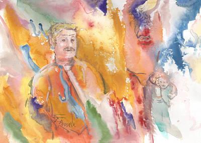 Painting - Twin Soul by Sheri Jo Posselt