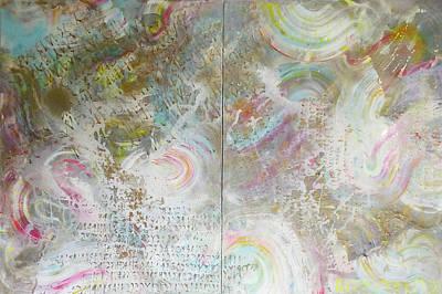 Painting - Twin Spica by Eva Konya
