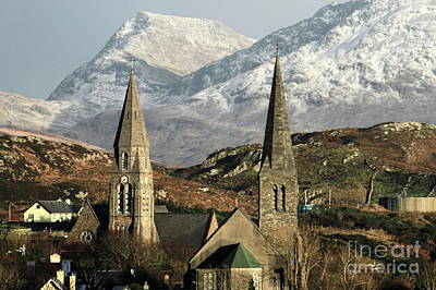 Photograph - Twin Steeples by Peter Skelton