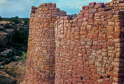 Photograph - Twin Towers At Hovenweep by John Brink