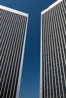 Photograph - Twin Towers by Kim Wilson