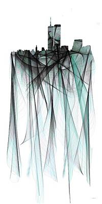 Digital Art - Twin Towers by Marlene Watson