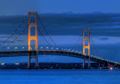Saints Photograph - Twin Towers Of Northern Michigan by Twenty Two North Photography