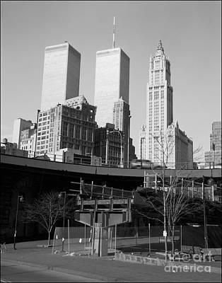 Twin Towers Original by Peter Lerman