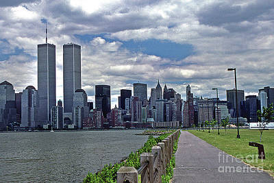 Twin Towers Art Print by Skip Willits