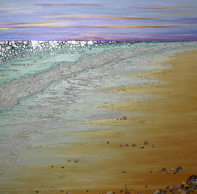 Painting - Twinkle Beach by Claire Johnson