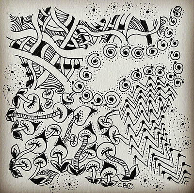 Drawing - Twinkle by Carole Brecht