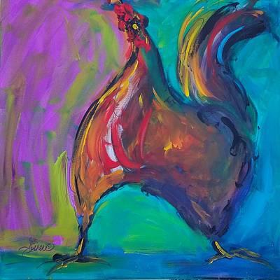 Painting - Twinkle Toes by Terri Einer