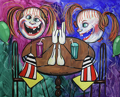Painting - Twins by Anthony Falbo