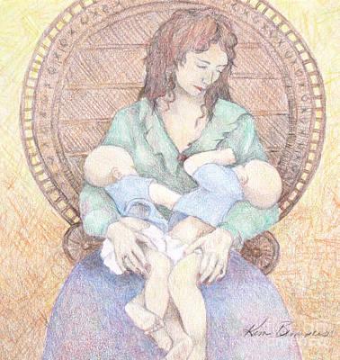 Twins Art Print by Kim Lucianovic