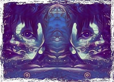 Digital Art - Twins by Susan Solak