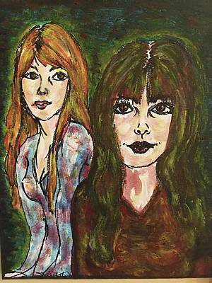 Susana Maria Rosende Wall Art - Painting - Twins by Susana Maria Rosende