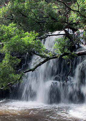 Photograph - Twins Waterfalls by Ivete Basso Photography