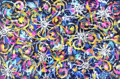 Digital Art - Twirl by Jean Batzell Fitzgerald