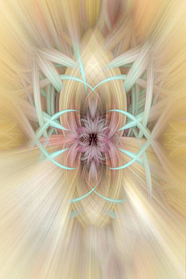 Digital Art - Twirled Energy 104 by Mary Almond