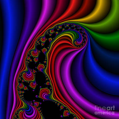 Twist 120 Art Print by Rolf Bertram