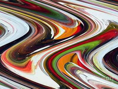 Painting - Twist And Shout by Dawn Hough Sebaugh