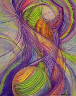 Twist Art Print by Caroline Czelatko