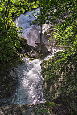 Photograph - Twisted Falls by Alan Raasch