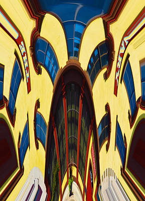 Photograph - Twisted Hallucination - Primary Colors by Shawna Rowe