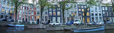 Photograph - Twisted Panorama. Amsterdam by Jouko Lehto