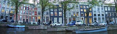Photograph - Twisted Panorama. Amsterdam by Jouko Lehto
