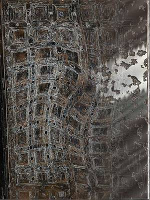 Digital Art - Twisted Port by Michael Hurwitz
