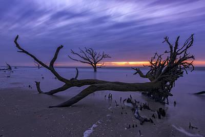 Photograph - Twlight In The Boneyard by Rick Berk