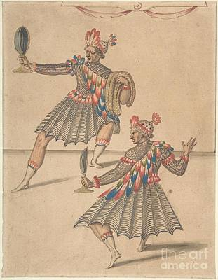 Ballet Painting - Two Americans For Ballet by Celestial Images