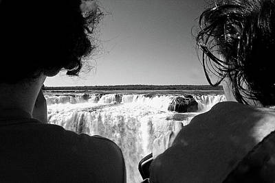 Photograph - Two At The Falls by Nareeta Martin