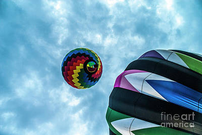 Photograph - Two Balloons by Alana Ranney