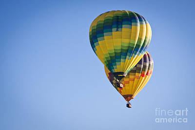 Photograph - Two Balloons by Ana V Ramirez