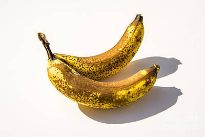 Healthy Eating Photograph - Two Bananas by Bernard Jaubert