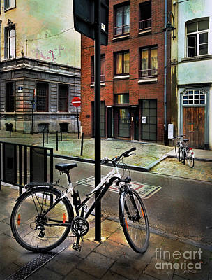 Photograph - Two Bicycles by Craig J Satterlee