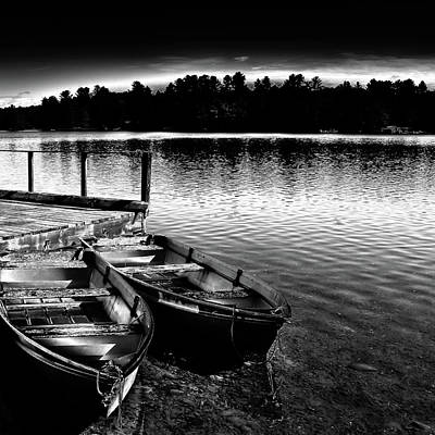 Photograph - Two Boats by David Patterson