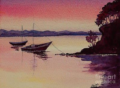 Painting - Two Boats by Pati Pelz