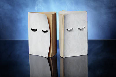 Two Books About Dreams Art Print by Floriana Barbu