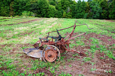 Photograph - Two Bottom Plow by David Arment
