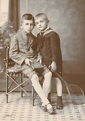Photograph - Two Boys by Jutta Maria Pusl
