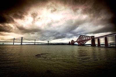 Photograph - Two Bridges by Bill Howard