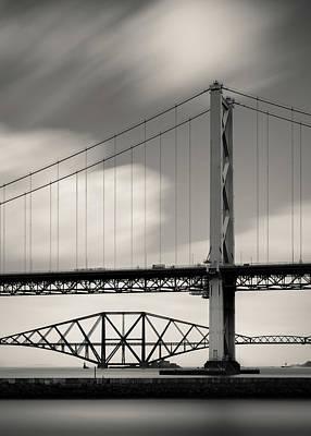 Photograph - Two Bridges by Dave Bowman