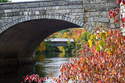 Photograph - Two Bridges by Kevin Fortier