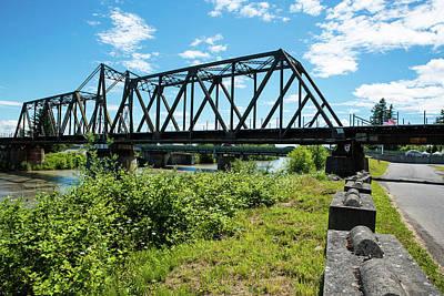 Photograph - Two Bridges by Tom Cochran
