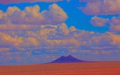 Two Butte Colorado Art Print