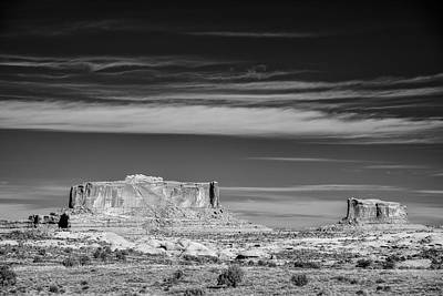 Horizontal Photograph - Two Buttes by Jon Glaser