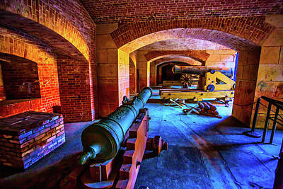 Photograph - Two Cannons by Garry Gay