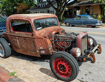 Bellefonte Wall Art - Photograph - Two Cars by Lois Johnson
