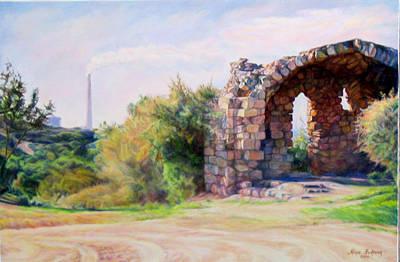 Ancient Civilization Painting - Two Civilizations. by Maya Bukhina