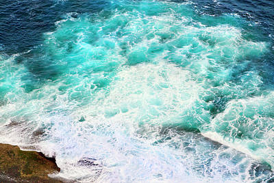 Photograph - Two Colours Of Ocean by Miroslava Jurcik