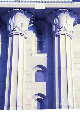 Two Columns Art Print